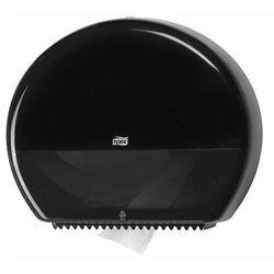Dozownik Tork do papieru toaletowego w jumbo roli czarny - sprawdź w wybranym sklepie