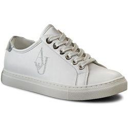Sneakersy ARMANI JEANS - 925220 7P610 00010 Bianco, kolor biały