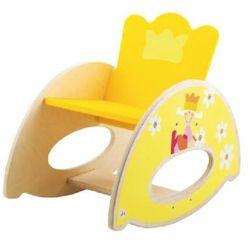 drewniane krzesełko bujane b my prince marki Sevi