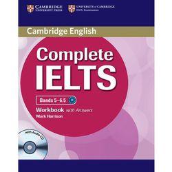 Complete IELTS Bands 5-6.5 Zeszyt Ćwiczeń z Odpowiedziami Plus Audio CD, książka w oprawie miękkej