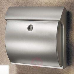 Burgwächter Classico skrzynka na listy, z tworzywa, srebrna (4003482247501)