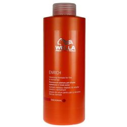 Wella Enrich Volumising - szampon na objętość do włosów cienkich 1000ml - sprawdź w wybranym sklepie