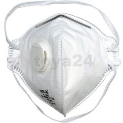 półmaska filtrująca ffp2 zaworek składana 500szt, marki Yato