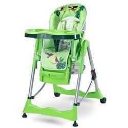 Caretero Magnus krzesełko do karmienia FUN GREEN NOWOŚĆ - sprawdź w wybranym sklepie