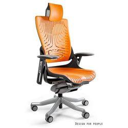 Fotel ergonomiczny czarny wau 2 elastomer - mango- zadzwoń 692 474 000 - otrzymasz rabat! marki Unique