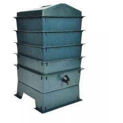 Vidaxl 4-poziomowy kompostownik ekologiczny, 42x42x60 cm