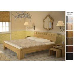 łóżko drewniane maroko 140 x 200 marki Frankhauer