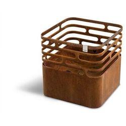 Hoefats - palenisko - cube - rdzawy