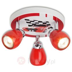 Spotrondell Racing Brilliant G56134/71, GU10;2800 K, (ØxW) 31 cmx11 cm, kolorowy, Racing