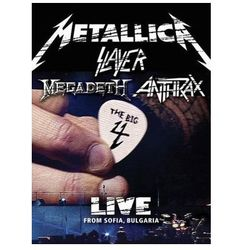 The Big 4 - Live From Sofia, Bulgaria (At The Sonisphere Festival) [Limited] [5CD+2DVD] - Anthrax, Megadeth, M