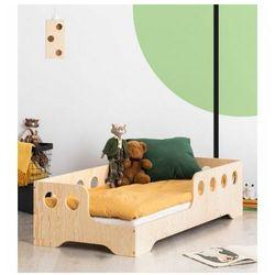 Lewostronne łóżko drewniane dziecięce 16 rozmiarów - Filo 4X, Kiki-5-L
