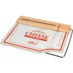 Eh excellent houseware Szklana deska do serów i przekąsek z nożem, 2 w 1 (8711295216756)
