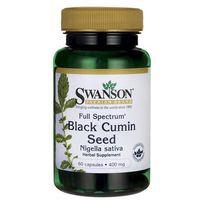 Swanson Full Spectrum Black Cumin Seed (Nasiona czarnego kminu) 400mg 60 kaps.