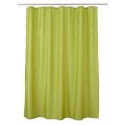 Cooke&lewis Zasłonka prysznicowa diani 180 x 200 cm zielona
