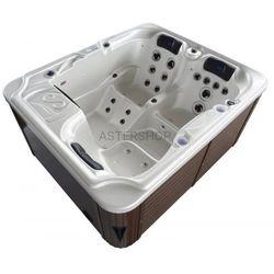 Sanotechnik Basen ogrodowy spa jacuzzi - model oasis, biały spa10