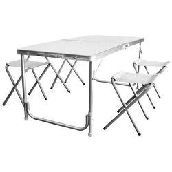 Kpl. turystyczny (stolik + 4 krzesła) 110x80x70 cm8211 marki Chomik
