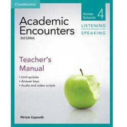 Academic Encounters: Human Behavior. Listening & Speaking. Książka Nauczyciela