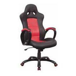 Fotel Q-029 czarno-czerwony - ZADZWOŃ I ZŁAP RABAT DO -10%! TELEFON: 601-892-200