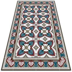 Dywanomat.pl Modny uniwersalny dywan winylowy modny uniwersalny dywan winylowy styl pawie pióra