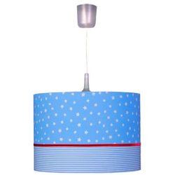 WALDI Lampa wisząca Gwiadki i czerwony pasek z kategorii Oświetlenie dla dzieci