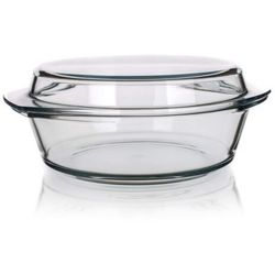 4-home Simax naczynie szklane, okrągłe z pokrywką 5,1 l (8593419414701)
