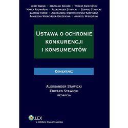 Ustawa o ochronie konkurencji i konsumentów. Komentarz (ISBN 9788326404177)
