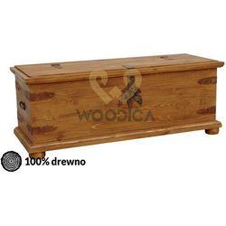 Kufer hacienda 01 [pojedynczy] 125x45x45 marki Woodica