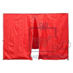 Garthen Komplet dwóch ścian do pawilonu profi 3 x 3 m - czerwony