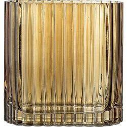 Wazon Bloomingville szklany brązowy 14 cm