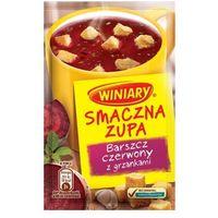 16g smaczna zupa barszcz czerwony z grzankami marki Winiary