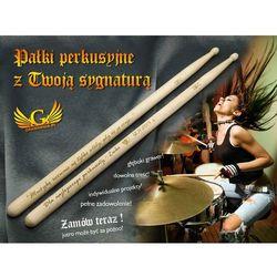 Pałki perkusyjne z twoją sygnaturą - prezent dla perkusisty - 130c od producenta Grawernia.pl - grawerowanie i wycinanie laserem