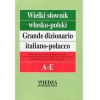 Wielki słownik włosko-polski Tom I A-E + Gramatyka (Wiedza Powszechna)