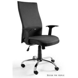 Unique Biurowe krzesło obrotowe black on black