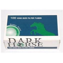 Gilzy Dark Horse 100 szt Menthol Click - produkt z kategorii- Akcesoria do wyrobów tytoniowych