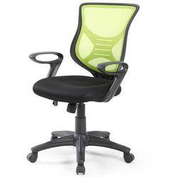 BONA fotel gabinetowy - czarny ||zielony