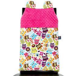 Cuddly Zoo, Sowy, Cudly back, Fuksja, oparcie na krzesło - produkt z kategorii- Dekoracje i ozdoby dla dzieci