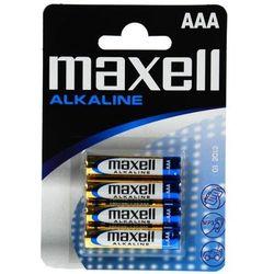 4 x bateria alkaliczna Maxell Alkaline LR03/AAA - produkt z kategorii- Baterie