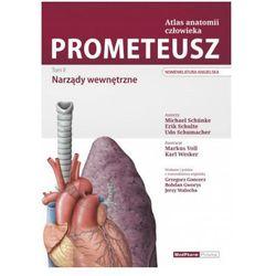 PROMETEUSZ Atlas Anatomii Człowieka Tom II Narządy wewnętrzne Nomenklatura angielska, pozycja wydawnicza