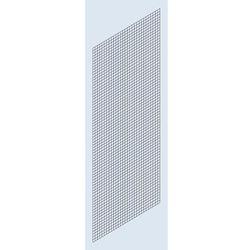 Eurokraft Osłona ścianki bocznej, krata spawana, wys. 2500 mm, głęb. 500 mm. stosowane jak