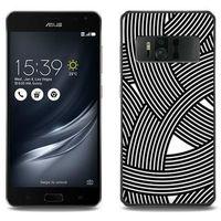 Etuo.pl Fantastic case - asus zenfone ar - etui na telefon fantastic case - biało-czarna mozaika