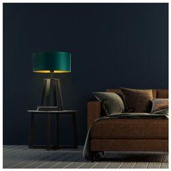 Designerska lampka nocna z abażurem THOR GOLD, 14519/41