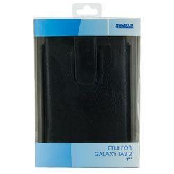 Etui do tabletu 4World Vertical do Galaxy Tab 2 7 cali Czarny 9114 Darmowy odbiór w 16 miastach! z kategorii Pokrowce i etui na tablety