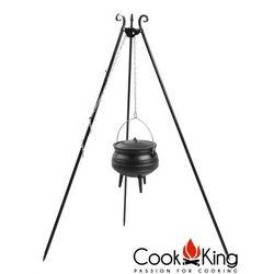 Kociołek emaliowany afrykański żeliwny 9l na trójnogu, CookKing