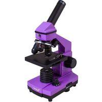 Mikroskop Levenhuk Rainbow 2L PLUS ametyst + DARMOWY TRANSPORT!