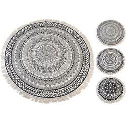:: dywan boho z frędzlami 150cm - wzór 2 - wzór 2 marki Interior space