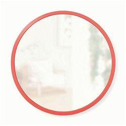 Loftowe lustro Enako - czerwone, kolor czerwony