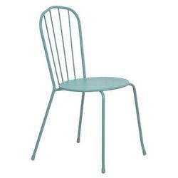 Krzesło Blooma Gloria 56 x 45 x 86 cm turkusowe (3663602935698)