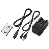 Sony  zestaw ładowarka akumulatorów bc-trx + zapasowy akumulator np-bx1