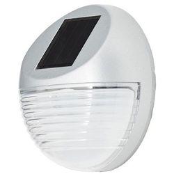 Kinkiet solarny LED Blooma 5000 K srebrny (3663602894452)
