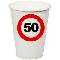 F f Kubeczki znak zakazu 50tka - 200 ml - 8 szt.